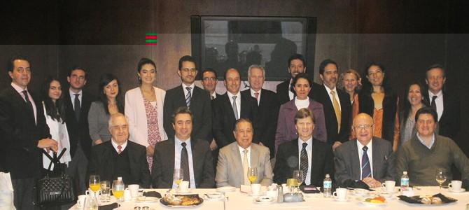Desayuno Conferencia con Enrique De La Madrid Cordero, Director General de Bancomext