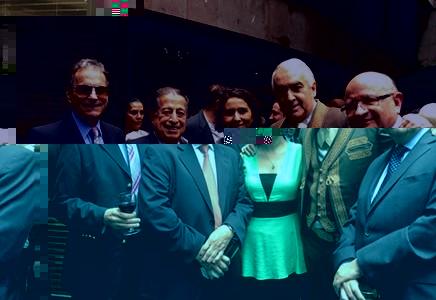 Celebración en la residencia del Excmo. Embajador de Colombia, José Gabriel Ortiz