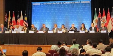 """«Publican los textos del TPP, los 12 países integrantes"""""""