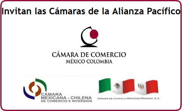 INVITACIÓN ALIANZA DEL PACÍFICO 27 de Abril