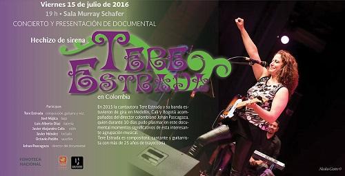 Julio 15 Documental con Tere Estrada