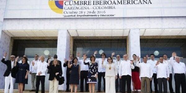 XXV Cumbre Iberoamericana 28 y 29 de octubre en Cartagena de Indias, Colombia