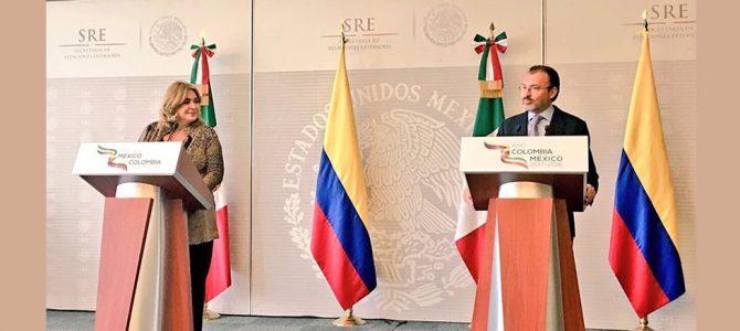 Presentan actividades del Año Colombia-México 2017- 2018