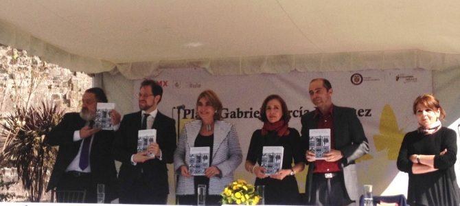 Inauguran la Plaza Gabriel García Márquez y presentan libro homenaje