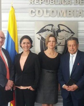 Reunión de trabajo con la nueva directora de ProColombia y la Embajada de Colombia