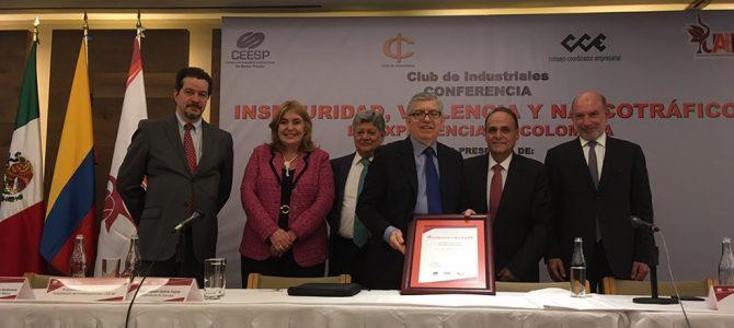 La experiencia de Colombia, con el expresidente César Gaviria Trujillo