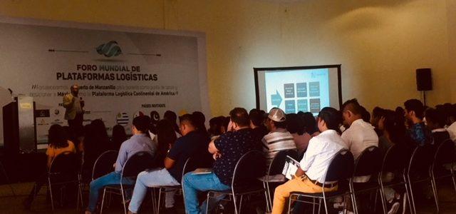Destacada Participación de la Cámara de Comercio México-Colombia en la Expo Foro Mundial de Plataformas Logísticas Manzanillo 2018