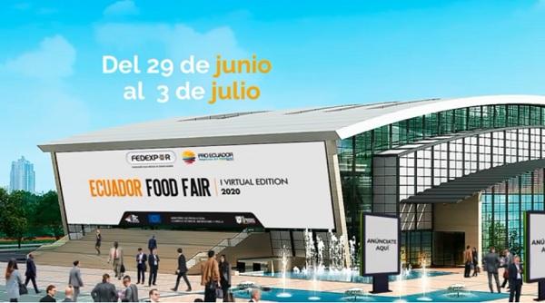 Ecuador Food Fair del 29 junio al 3 julio
