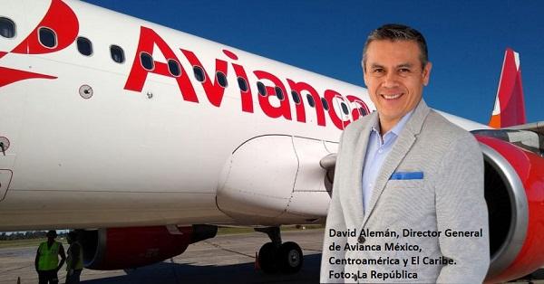 Avianca reanudará los vuelos a México desde Colombia