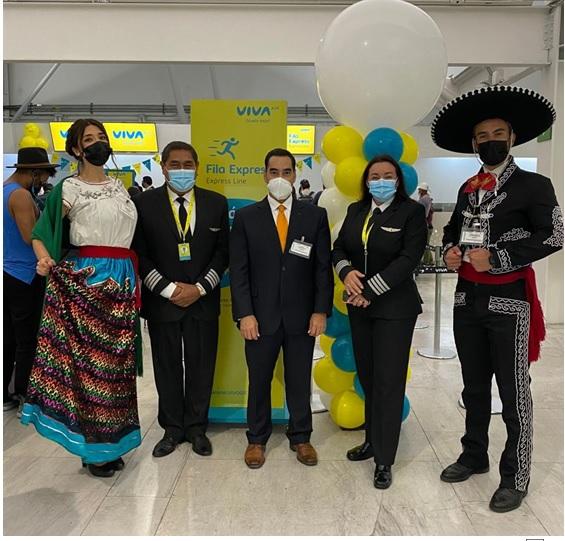 Viva Air inaugura su vuelo desde CDMX a Colombia